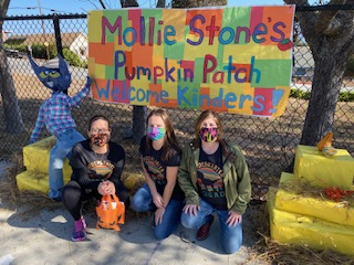 Thank you Mollie Stones for the pumpkins!